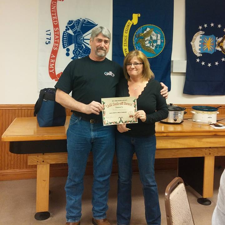 Clinton County Chili Cook Off 1st Place